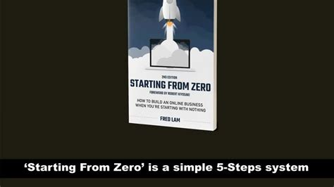 Starting From Zero Audiobook By Fred Lam Lifetime Commission.