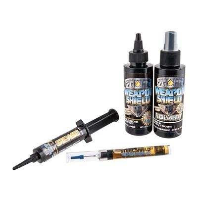Steel Shield Technologies Inc Weapon Shield Lubrication Review.