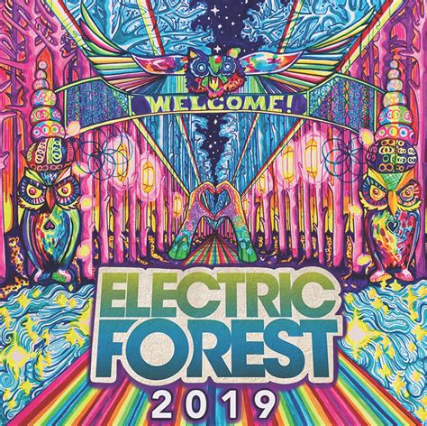 Sticker Design Contest Electric Forest.