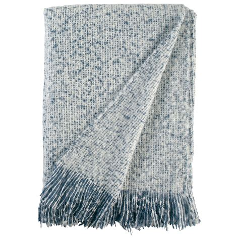Stone  Beam Oversized Stripe Brushed Weave Throw Blanket .