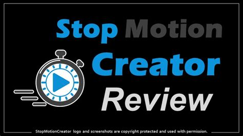 Stop Motion Creator Review - Youtube.