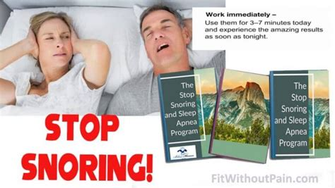 [click]stop Snoring Exercise Program Reviews  Snoringradar.