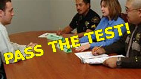 [click]stress Passing The Police Oral Board.