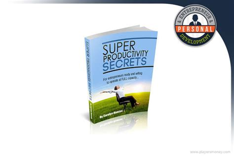 [click]super Productivity Secrets Review - Carolyn Hansen S Sps .