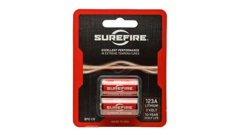 Surefire Cr123 Lithium Batteries Up To 33 Off Long Life.