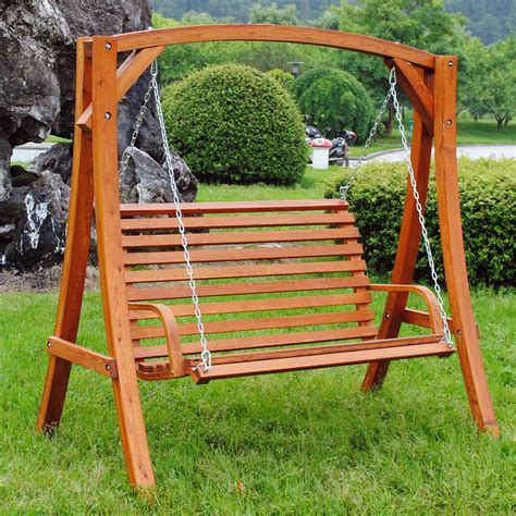Swing Bench Seats Wooden