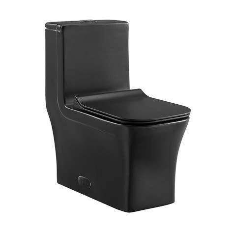 Swiss Madison Concorde 1-Piece Square Elongated Toilet .