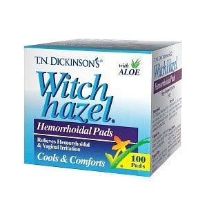 @ T N Dickinson S Witch Hazel Hemorrhoidal Pads Your Anal .