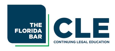 [pdf] The Florida Bar Continuing Legal Education -- Programs .