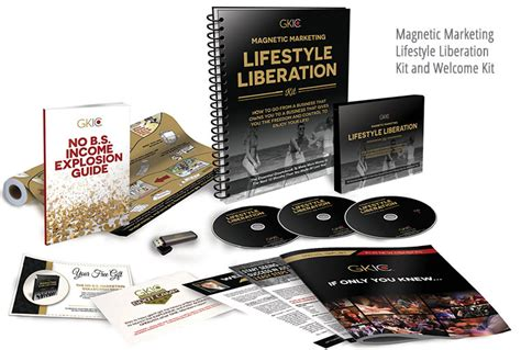 [pdf] The Gkic Magnetic Marketing Lifestyle Liberation Kit.
