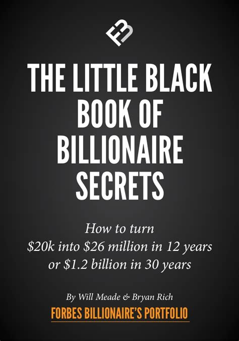 [pdf] The Little Black Book Of Billionaire Secrets.