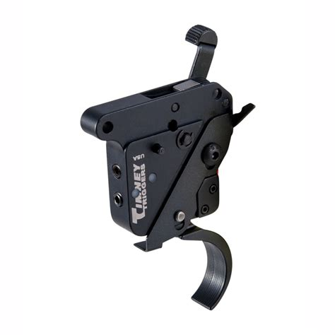 Timney Remington 700 Trigger W Safety Curved Shoe  Brownells.