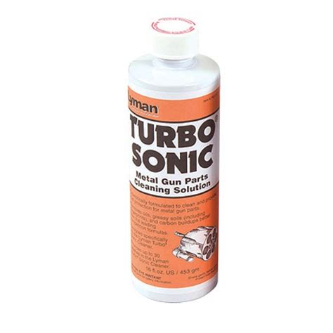 Turbo Sonic Cleaning Solutions And Accessories Lyman Turbo .