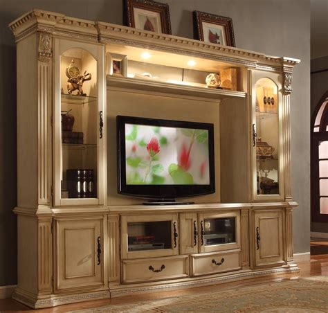 TV Entertainment Centers In White