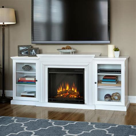 TV Media Centers With Electric Fireplaces
