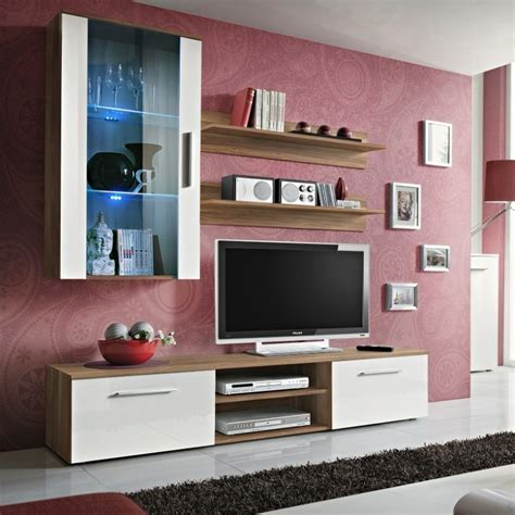 TV Wall Units With Doors