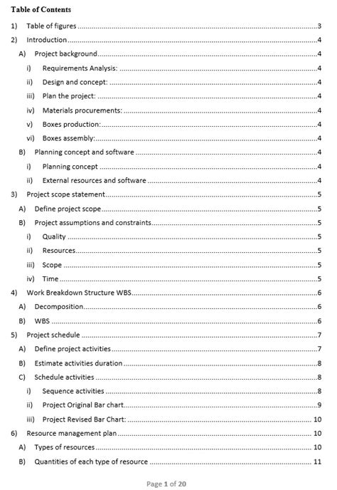 [click]table Of Contents - Pmi  Project Management Institute.