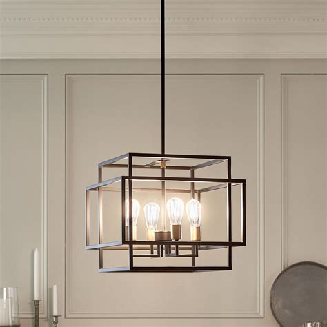 Taubert 1 Light Pendant Black  Kichler Lighting.
