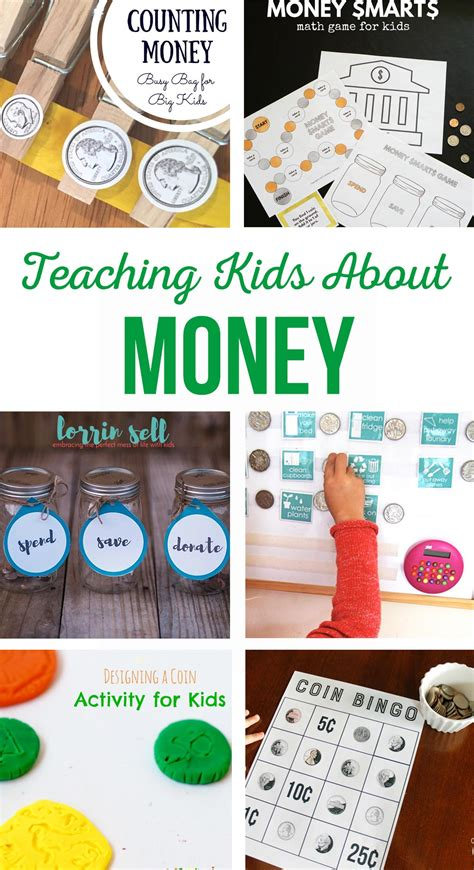 [click]teaching Kids About Money Activities Tips And Children .