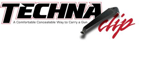Techna Clip Worlds Smallest Conceal Carry System.