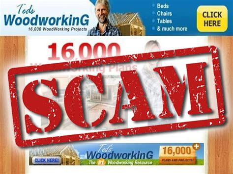 Teds Woodworking Scam Alert And How To Get Your Money Back.