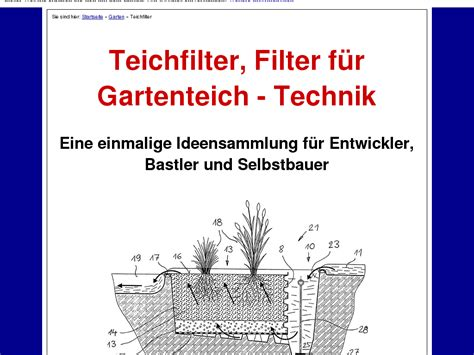 @ Teichfilter Gartenteich Filter Technik Review - My-Review Net.