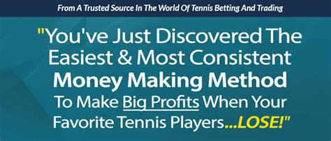 Tennis Goldmine - Final Review - Honest Betting Reviews.