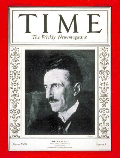 Tesla Time Magazine