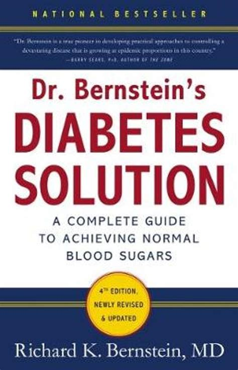 Testimonials - Dr. Bernsteins Diabetes Solution. A Complete Guide.