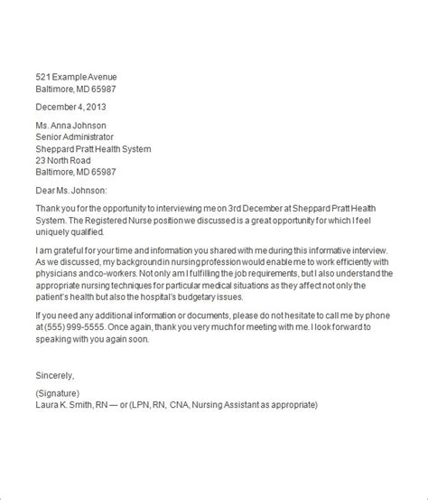 thank you letter after job interview - Fashion Industry Cover Letter