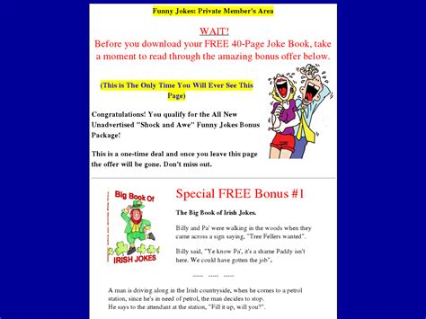 [click]that S Comedy  The Net S 1 Joke Ebook .