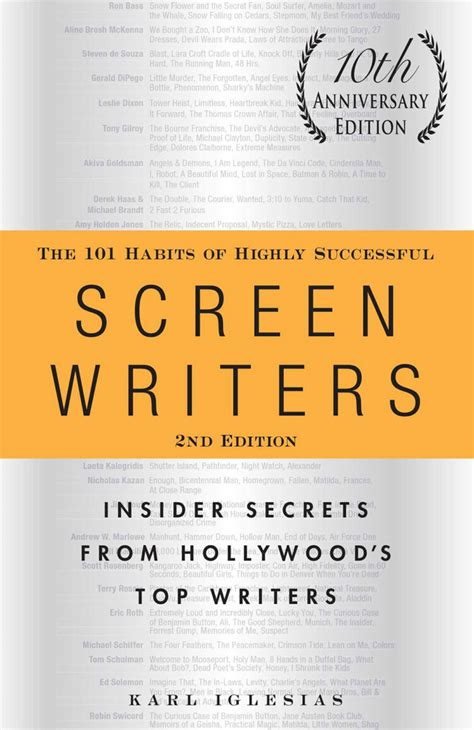 [pdf] The 101 Habits Of Highly Successful Screenwriters 10th .