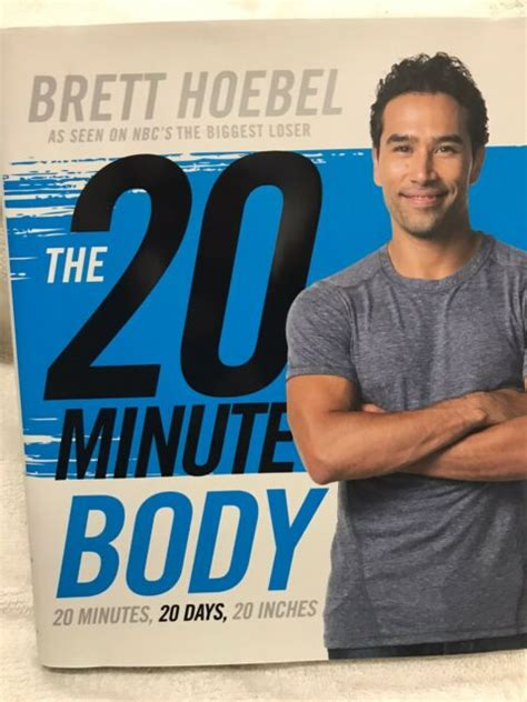 The 20-Minute Body - Brett Hoebel - Hardcover.