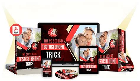 [click]the 20-Second Testosterone Trick By Adam Armstrong Book .