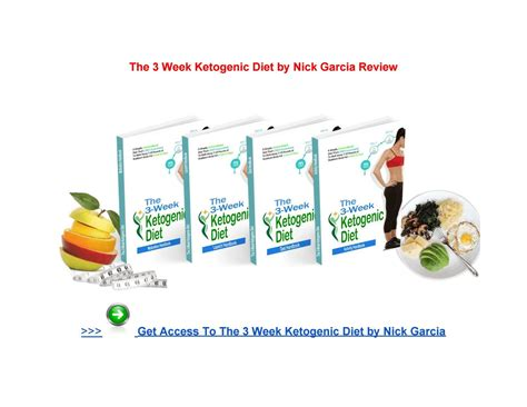 [click]the 3-Week Ketogenic Diet By Nick Garcia Book Pdf Free .