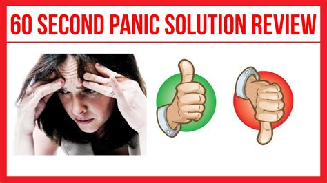 [click]the 60 Second Panic Solution  By Anna Gibson-Steel.