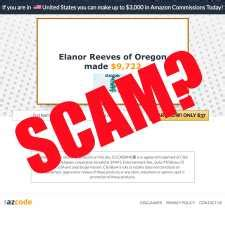 The Az Code Review: Scam Or Make $10,000/week From Amazon.