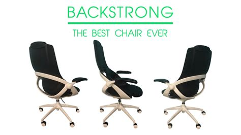 [click]the Backstrong Chair Fixes How You Sit Let It Do The Work .
