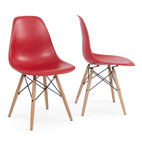 The Best 97 White Dsw Midcentury Dining Shell Chairs .