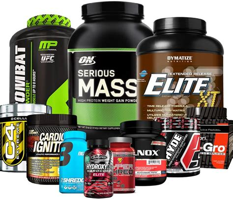 The Best Bodybuilding Gain Mass Muscle Supplements