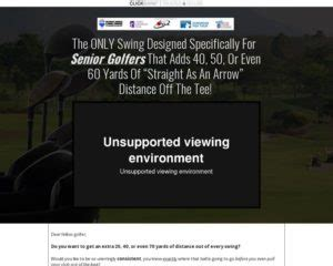 The Best Converting Golf Offer On Cb - Proven On Cold Traffic.