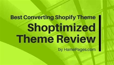 @ The Best Converting Theme For Shopify - Shoptimized.