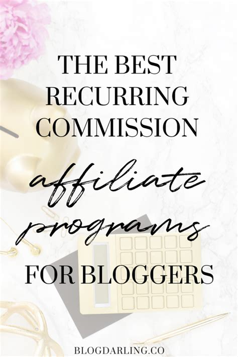 The Best Recurring Commission Affiliate Programs - Blogging Her.