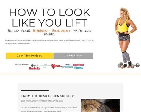 [click]the Bigness Project How To Look Like You Lift.