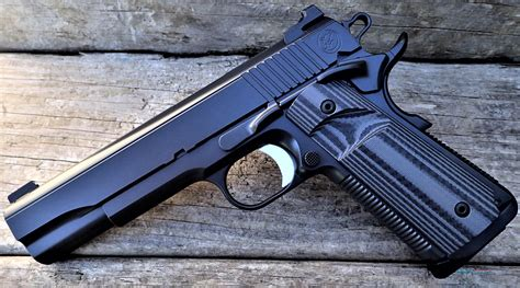 The Bull Smoke 1911 From Nighthawk Custom.