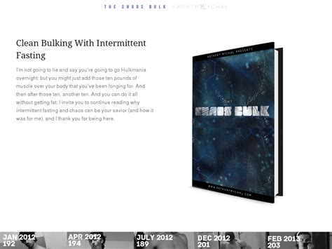 [click]the Chaos Bulk Intermittent Fasting Method Review   Does .