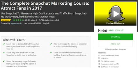 [click]the Complete Snapchat Marketing Course Attract Fans In .