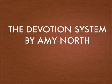 @ The Devotion System  Amy North   Stupidly Simple .