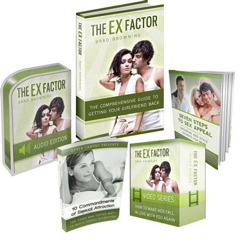 The Ex Factor Guide -- The 1 Ex Back Product On Cb For That.