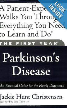 [pdf] The First Year Parkinsons Disease An Essential Guide For .